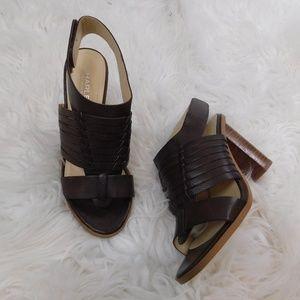 NWOB Charles David leather heels
